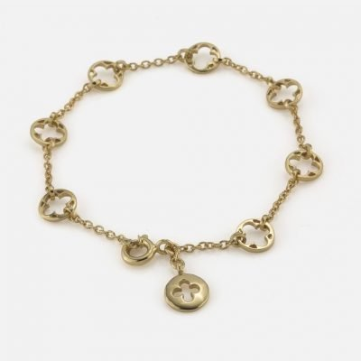 'Promessa de Amor' bracelet in yellow gold