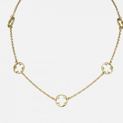 """Promessa de Amor"" chain in yellow gold."