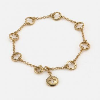 """Promessa de Amor"" bracelet in yellow gold."