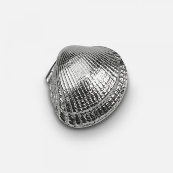 """Cockle"" silver box."