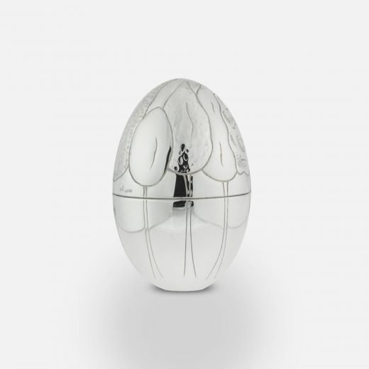 2011 'Forest' silver egg