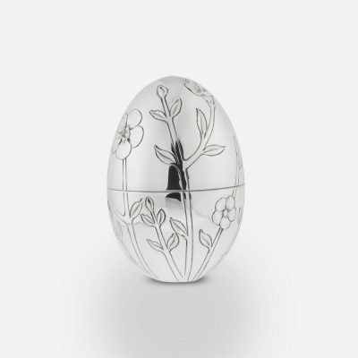 2010 'Flax' silver egg
