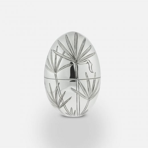 2010 'Papyrus' silver egg
