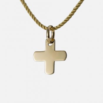 """Blessing"" pendant in yellow gold."