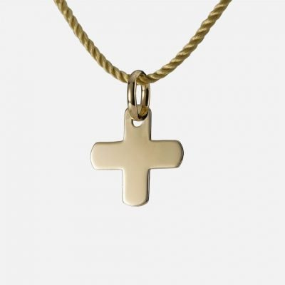 'Blessing' pendant in yellow gold