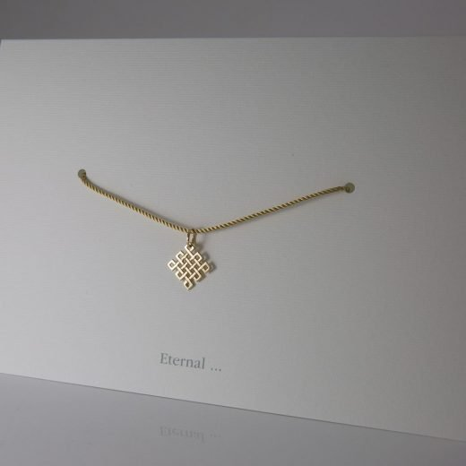 'Eternal' pendant in yellow gold
