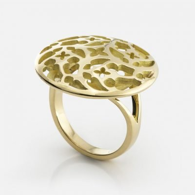 'Promessa de Amor' ring in yellow gold