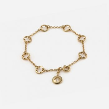 """Promessa de Amor"" bracelet in yellow gold"
