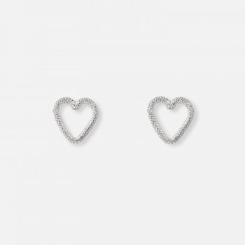 "Silver ""Heart of Viana"" filigree pair of earrings"