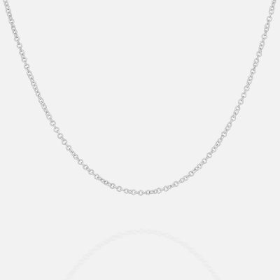 Silver chain 'Trace Round' Ø 2.3mm