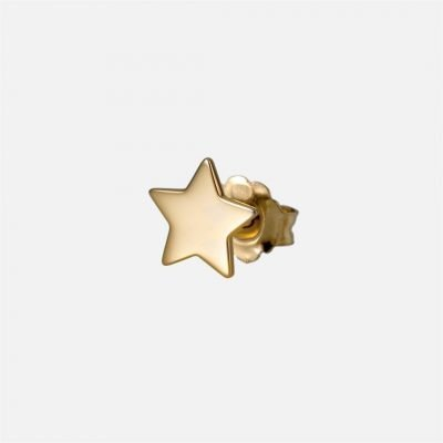'Be a Star' individual earring in yellow gold