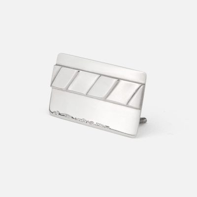 Place card holder in silver