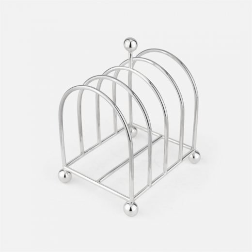 Toast-rack in silver