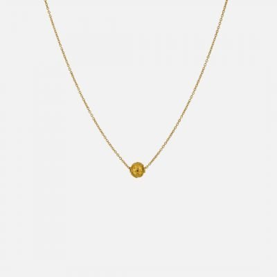 Viana Bead necklace in yellow gold